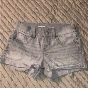 """Old Navy """"boyfriend"""" shorts"""